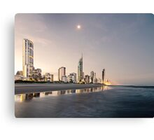 Peace in Surfers Paradise Canvas Print