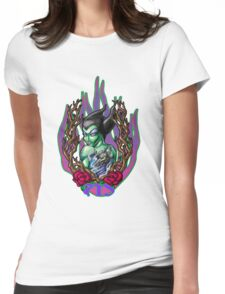 Maleficent Tattooed Womens Fitted T-Shirt