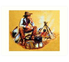 The Swagman Art Print