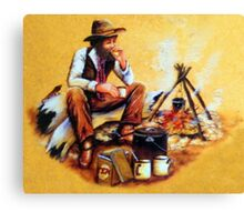 The Swagman Canvas Print