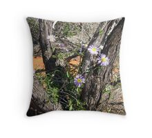 Wildflowers   Shark Bay    Monkey Mia Throw Pillow
