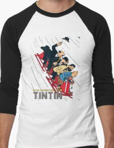 tintin adventures Men's Baseball ¾ T-Shirt