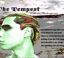 The Tempest Full Fathom Five thy Father Lies by KayeDreamsART