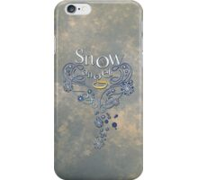 The Wings of a (Thomas J.) Snow Angel iPhone Case/Skin