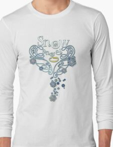 The Wings of a (Thomas J.) Snow Angel Long Sleeve T-Shirt