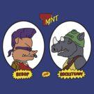 Bebop and Rocksteady by BiggStankDogg