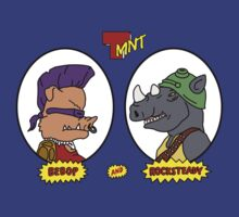 Bebop and Rocksteady by BiggStankDogg
