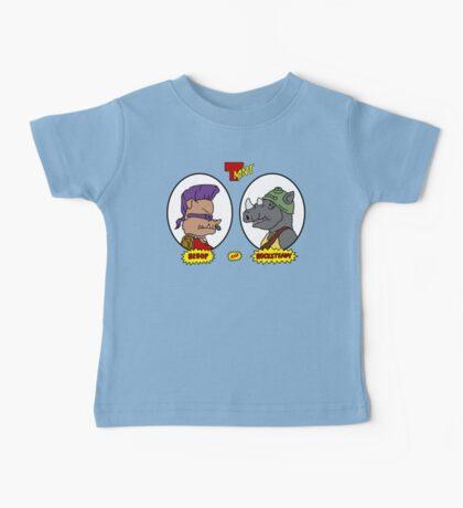 Bebop and Rocksteady Baby Tee