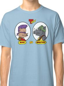 Bebop and Rocksteady Classic T-Shirt