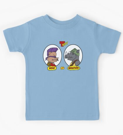 Bebop and Rocksteady Kids Tee