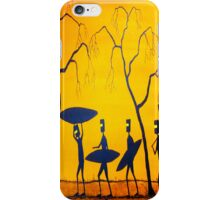 """""""Ned Off For A Surf"""" Australia; Phone Case iPhone Case/Skin"""