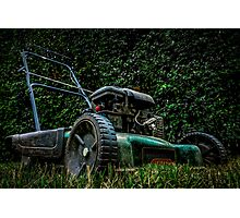 the lawnmower  Photographic Print
