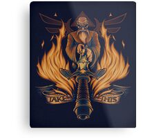 Take This - Print Metal Print