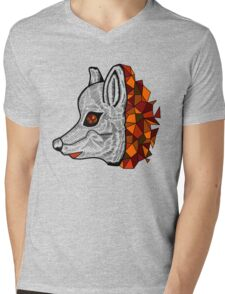 GeoFox Mens V-Neck T-Shirt
