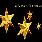 a blessed Christmas by lensbaby