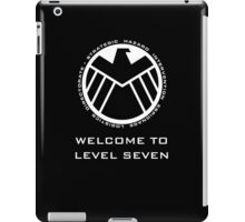 Welcome to Level Seven iPad Case/Skin