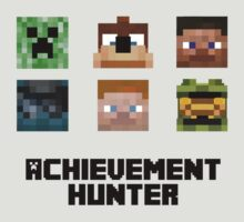 Achievement Hunter Minecraft Skins by thefinalproblem