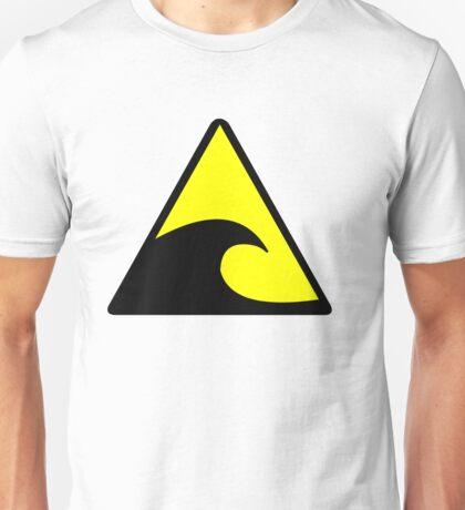 Tsunami Hazard Symbol Unisex T-Shirt