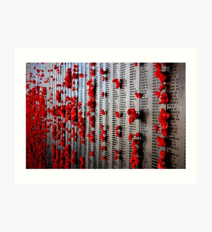 In Rememberance Art Print
