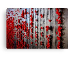 In Rememberance Canvas Print