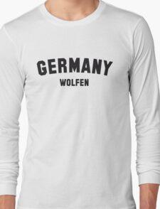 GERMANY WOLFEN Long Sleeve T-Shirt