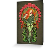 Pretty Poison - Print Greeting Card
