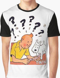 tintin adventures Graphic T-Shirt
