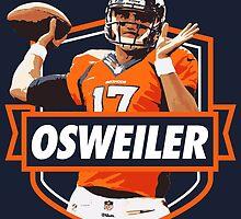Brock Osweiler - Denver Broncos by twyland