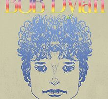 Bob Dylan ketch & Illustration 2 by ArtProphet