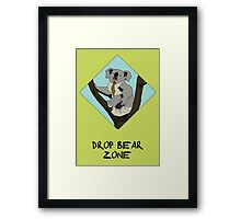Drop Bears Preservation Society Framed Print