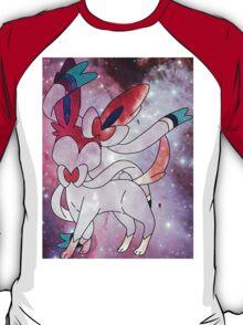 Space Pokemon #700 Sylveon Nymphia T-Shirt