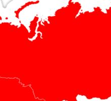 Soviet Union Map Sticker