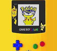 Samsung galaxy pokemon gameboy case by Jordan Bails