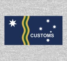 Australian Customs Flag Proposal by cadellin