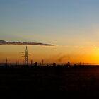 Industrial dawn by Jan Stead JEMproductions