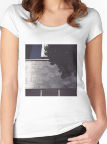 melbourne city view Women's Fitted Scoop T-Shirt