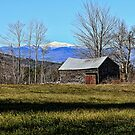 Snow-Capped Mount Washington by T.J. Martin