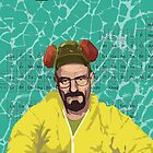 Breaking Bad, Walter White Samsung Case by Jordan Bails
