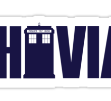 Whovian Sticker
