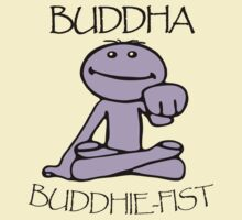 Buddha [Twitch.tv] - 'Pinky's Buddhie-Fist' by PaperGoblin