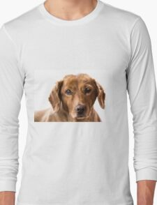 puppy eyes Long Sleeve T-Shirt