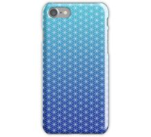 Flower of Life - Blue iPhone Case/Skin