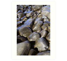 Seastones, East Coast, Tasmania Art Print