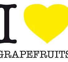 I ♥ GRAPEFRUITS by eyesblau