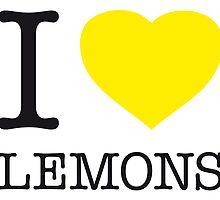 I ♥ LEMONS by eyesblau