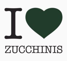 I ♥ ZUCCHINIS One Piece - Long Sleeve