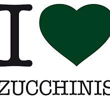 I ♥ ZUCCHINIS by eyesblau