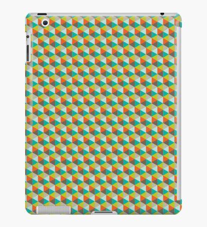 Retro geometric iPad Case/Skin