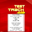 Test Track Fastpass by Margybear