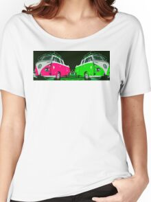 VW combi duo Women's Relaxed Fit T-Shirt